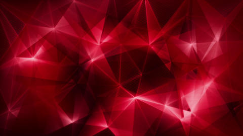dark red triangles network trendy loop backgrund 4k (4096x2304) Animation