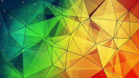 colorful triangles and lines pattern loopable 4k (4096x2304) Animation