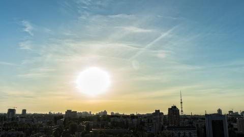 City Sunset 10 Footage