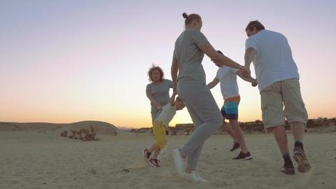 Round Dance on the Beach Footage