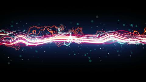 energy glowing wave seamless loop animation 4k (4096x2304) Animation