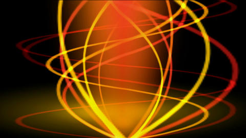gold spiral line and color light.lightning,seamless... Stock Video Footage