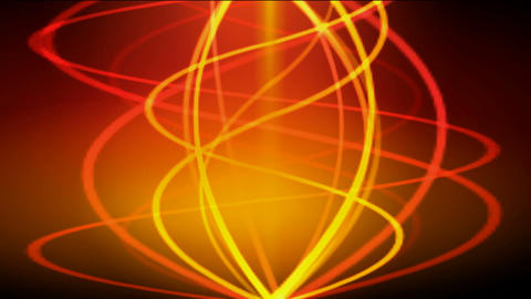 gold spiral line and color light.lightning,seamless loop.dizziness,fire,gas,Ribbon,Bonfires,torches Animation