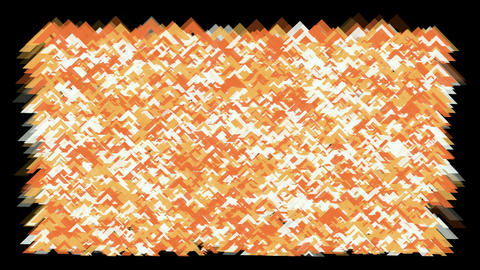 orange fragment paper... Stock Video Footage