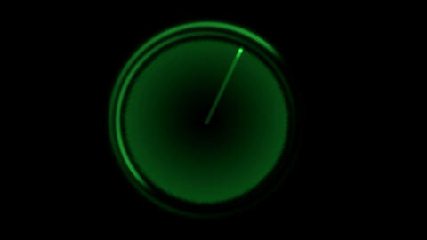 green radar background.seamless loop Animation