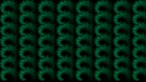 abstratct rotation green pattern,used as background.Wool,plush,material,knitting,textile,silk waddin Animation
