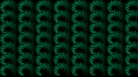 abstratct rotation green pattern,used as... Stock Video Footage