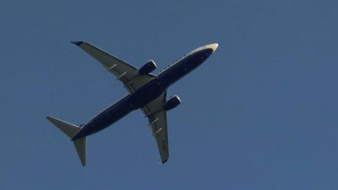 airplane ryanair 02 Footage