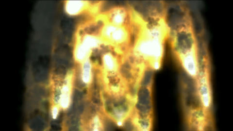 fire and smoke,explosion Oildepots and oil... Stock Video Footage