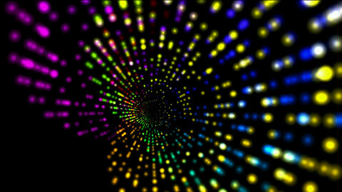 abstract rotation color ray light,web tech... Stock Video Footage