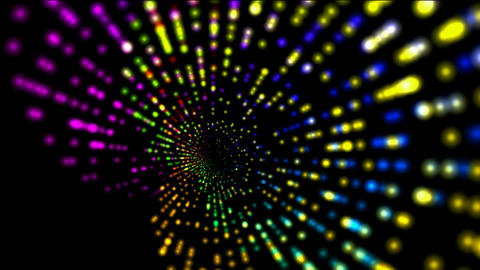 abstract rotation color ray light,web tech background.spores,mind,romance,romantic,material,texture Animation