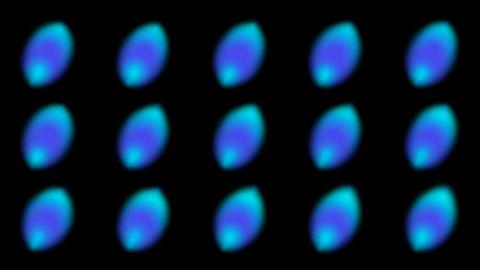 blue dot light background Stock Video Footage