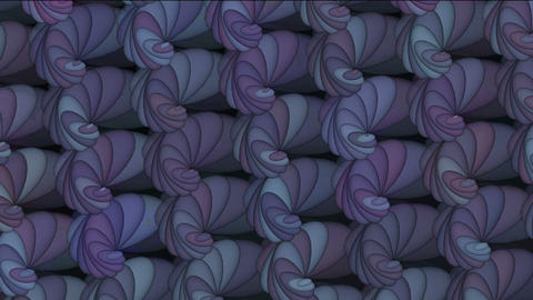 Animation of rotation purple pattern Stock Video Footage