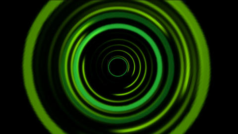 green rotation round,like as time... Stock Video Footage