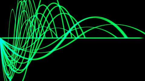 green light line,background equalizer.Ripple,beautiful,art,decorative,mind,romantic,Game,Led,neon li Animation