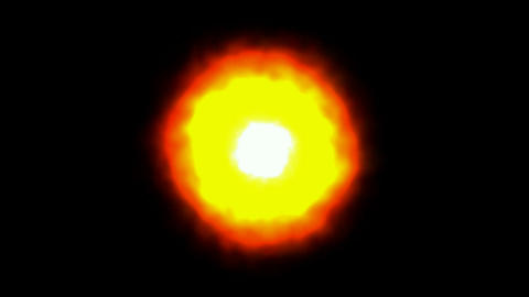 Looping Sun slowly rotating,sun... Stock Video Footage