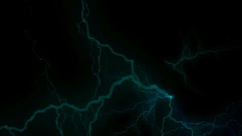 blue lightning,magnetic... Stock Video Footage