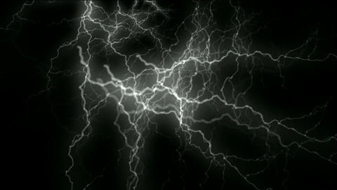 lightning and energy magnetic field Stock Video Footage
