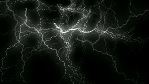 lightning and energy magnetic field Animation