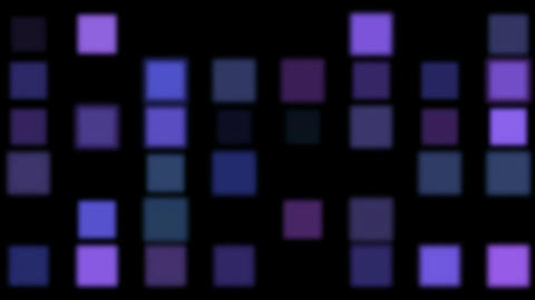 purple square matrix,disco... Stock Video Footage