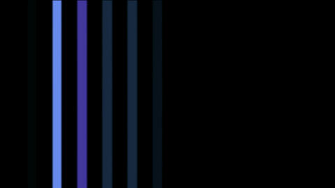 blue vertical rectangle... Stock Video Footage