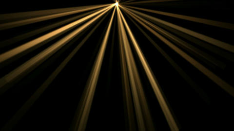 gold rays light,flare sunlight Animation