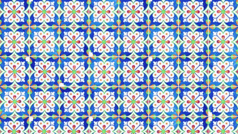 Seamless tile pattern Animation