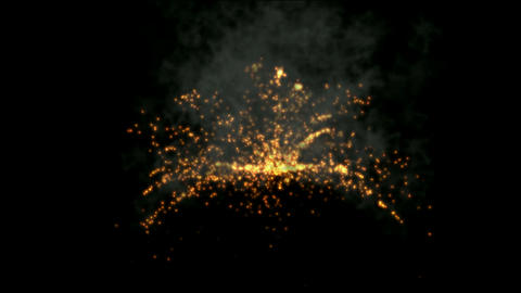 golden Fireworks and smoke,seamless,loop,arms,war,signal flare,signal,festivals,celebrations,missile Animation