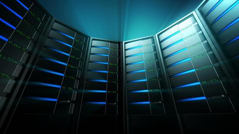 Servers Background 3 (Loop) Stock Video Footage