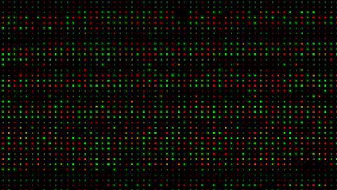 red and green electronic light array background.Scanning,detection,radar,vision,idea,creativity,vj,b Animation