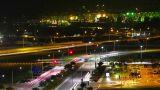 Port of Singapore at night Footage