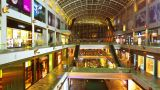 Shopping Mall Timelapse In Motion stock footage