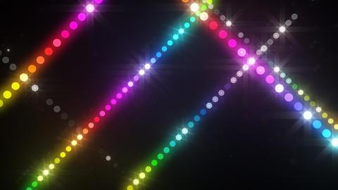 Neon LED Dot9 A3b HD Stock Video Footage