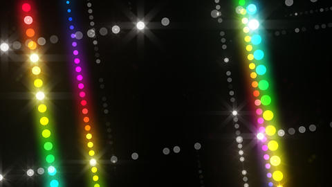 Neon LED Dot9 A3b HD Stock Video Footage