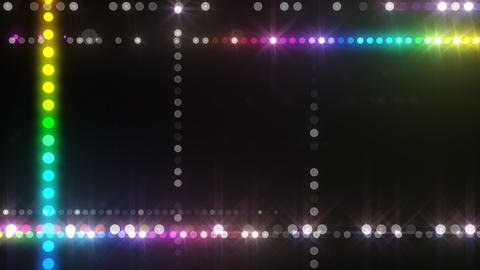 Neon LED Dot9 A3f HD Animation