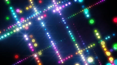 Neon LED Dot9 A4b HD Animation