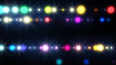 Neon LED Dot9 A4h HD Stock Video Footage