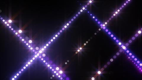 Neon LED Dot9 B3d HD Stock Video Footage