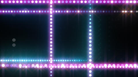 Neon LED Dot9 B3f HD Animation