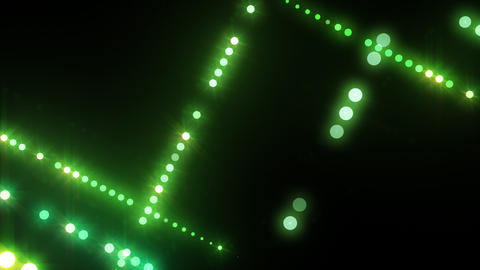 Neon LED Dot9 B4b HD Stock Video Footage
