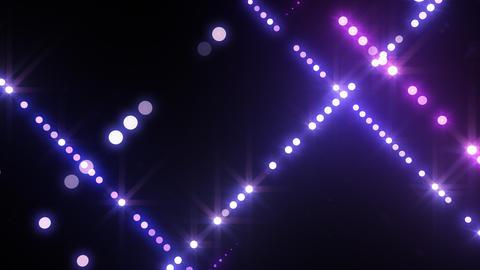 Neon LED Dot9 B4d HD Stock Video Footage