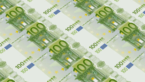 100 euro bills,Printing Money Animation Animation