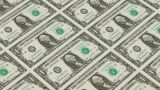 1 Dollar Bills,Printing Money Animation stock footage