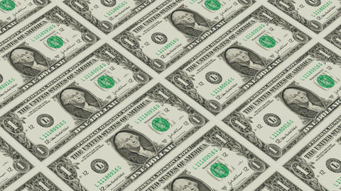 1 dollar bills,Printing Money Animation Animation
