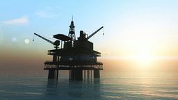 石油プラットホーム Animation