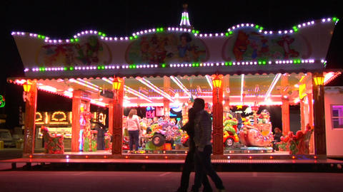 carousel 01 e Stock Video Footage