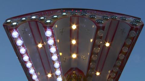 light amusement park 02 Stock Video Footage