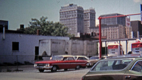 1971: Downtown district captured with SH Kress building Live Action