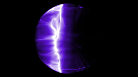 Violet electronic effects Animation