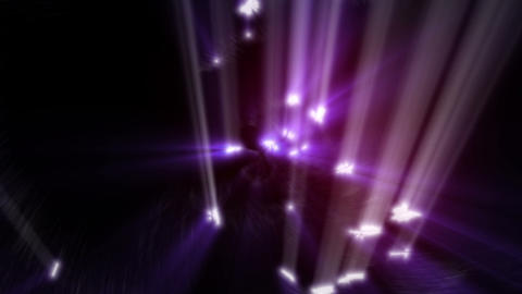Violet rays of light Animation